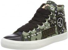 REPLAY Emma, Sneaker a Collo Alto Donna, Verde (Mil Grn), 38 EU