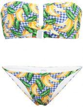 Onia - Genevieve bikini top - women - Nylon/Spandex/Elastane - XS, S, M, L, XL - BLUE
