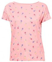 edc by Esprit 058cc1k099, T-Shirt Donna, Rosa (Pink 670), Small