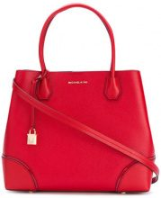 Michael Michael Kors - padlock tote - women - Leather - One Size - RED
