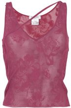 Christian Dior Vintage - Canotta lavorata a maglia - women - Viscose - 36 - PINK & PURPLE
