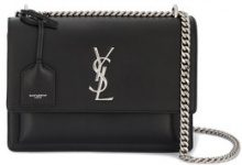Saint Laurent - Borsa 'Sunset' media - women - Leather/metal - One Size - Nero