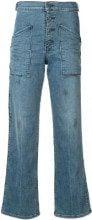 Rta - Jeans a zampa di elefante - women - Polyester/Spandex/Elastane/Cotton - 26, 27, 28, 29 - GREEN
