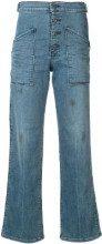 Rta - Jeans a zampa di elefante - women - Polyester/Spandex/Elastane/Cotone - 26, 27, 28, 29 - GREEN
