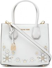 - Michael Michael Kors - Borsa Tote 'Mercer' - women - Calf Leather - Taglia Unica - Bianco