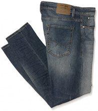 JACK & JONES Jjiglenn Jjicon Bl 670 Indigo Knit Noos, Jeans Uomo, Blu (Blue Denim), W36/L32 (Taglia Produttore: 36)