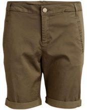VILA Chino Shorts Women Green