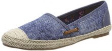 Tamaris 24632, Espadrillas Donna, Blu (Navy Stripes), 37 EU