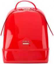 - Furla - Candy backpack - women - PVC/fibra sintetica/pelle - Taglia Unica - di colore rosso