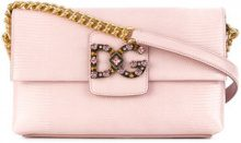 Dolce & Gabbana - Borsa a spalla DG millennials - women - Calf Leather - One Size - Rosa & viola