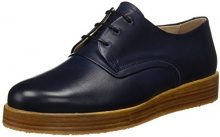 Neosens S060 Restored Skin Baco, Scarpe Stringate Oxford Donna, Blu (Midnight), 39 EU
