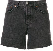 Levi's - Shorts in denim - women - Cotton/Spandex/Elastane - 26, 27, 28, 29, 30, 32, 31 - BLACK