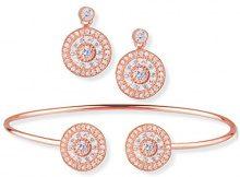 Ingenious Jewellery Accessori Donna argento 9 carati Zirconia cubica