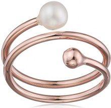 caï FINERING - Anello, argento, 54 (17.2), colore: rosé vergoldet, cod. C7339R/90/46/54