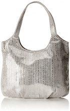 s.Oliver (Bags) Shopper - Borsa Donna, Argento (Silver Lining), 4x29x37 cm (B x H T)