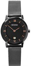 Sekonda-Orologio da donna al quarzo con Display analogico e braccialetto in acciaio INOX con 2244,27, colore: grigio