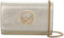 Fendi - small 3Baguette style bag - women - Calf Leather - One Size - METALLIC