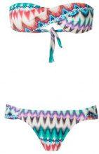 Brigitte - bandeau bikini set - women - Spandex/Elastane/Polyimide - PP, P, M, G, GG - Blu