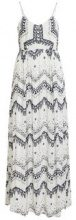 VILA Patterned Maxi Dress Women White