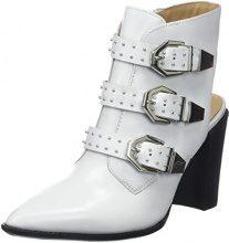 Bronx BX 1217 Bamericanax, Scarpe col Tacco con Cinturino Dietro la Caviglia Donna, Bianco (White 04), 39 EU