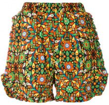 La Doublej - shorts - women - Cotton/Nylon - XS, S, M, L - YELLOW & ORANGE
