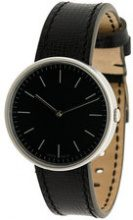 Uniform Wares - M35 two hand watch - women - Calf Leather/stainless steel/glass - OS - Nero