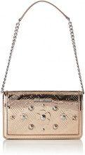 Love Moschino Borsa Embossed Tpu Rame - Borse a spalla Donna, Marrone (Copper), 5x13x22 cm (B x H T)