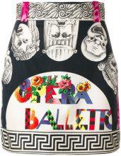 Versace Vintage - Gianni Versace Opera Balletto Teatro print skirt - women - Cotone - 36 - MULTICOLOUR
