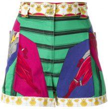 Versace Vintage - Shorts a vita alta - women - Cotton - XS - MULTICOLOUR