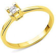 Miore - Anello, oro giallo 585/1000, Donna, 14