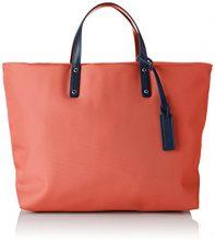 Le Tanneur Swana Twu1012 - Borse a mano Donna, Arancione (Papaya), 15x28x34 cm (W x H L)