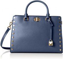 Michael Kors Sylvie - Borse a secchiello Donna, Blue (Admiral), 13x23x32 cm (W x H L)