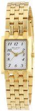 Regent 12210860 - Orologio da polso donna, acciaio inox, colore: giallo