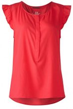 Street One 340907, Blusa Donna, Rot (Hibiscus Red 11346), 50