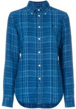 Polo Ralph Lauren - Camicia - women - Linen/Flax - L - BLUE
