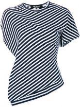 Junya Watanabe - T-shirt a righe - women - Cotton - S, M - BLUE