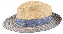 CaPO Capri HAT, Cappello da Sole Donna, Blu (Royal 16), Small