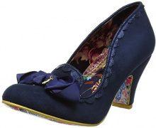 Irregular ChoiceKanjanka - Scarpe con Tacco Donna, Blu (Blue (Navy)), 36