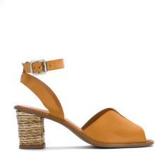 Serpui - leather sandals - women - Leather - 35, 36, 37, 38 - YELLOW & ORANGE