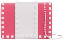 Valentino - Borsa 'Free Rockstud' - women - Leather - OS - PINK & PURPLE