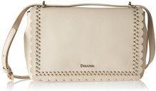 Pollini Bag - Borse a spalla Donna, Marrone (Latte), 8x17x28 cm (B x H T)