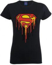 DC Comics - Maglietta, Manica corta, Donna, nero (Black), L