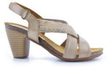 Sandali pelle con tacco Mabel