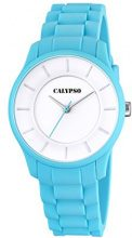 Calypso-Orologio Unisex al quarzo con Display analogico e cinturino in plastica, colore: turchese, K5671/3