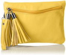 Boscha BO-1072-CS, Sacchetto Donna, Giallo (Giallo (yellow 014)), 1x17x24 cm (B x H x T)