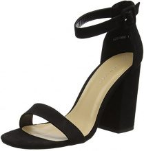 New Look Riches, Sandali con Plateau Donna, Nero (Black), 40 EU