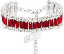 Gcds - Bracciale con cristalli - women - Metal (Other)/Crystal - OS - RED