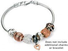 Elements Silver-Collana in argento Sterling, con fiore