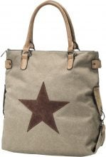 Borsa in canvas (Marrone) - bpc bonprix collection