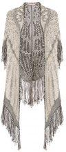 Cecilia Prado - Simone shawl - women - Acrylic/Cotton - M - GREY
